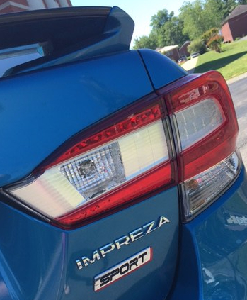 Impreza rear closeup