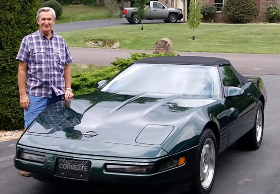 Dan and 93 Corvette