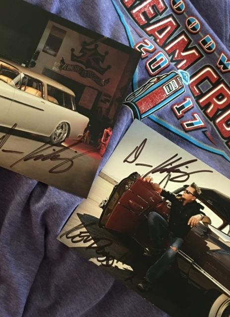 DK signatures and shirt