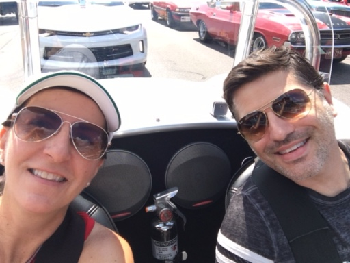 Jules and Brian Cobra cruisin