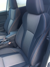 Front seat detail