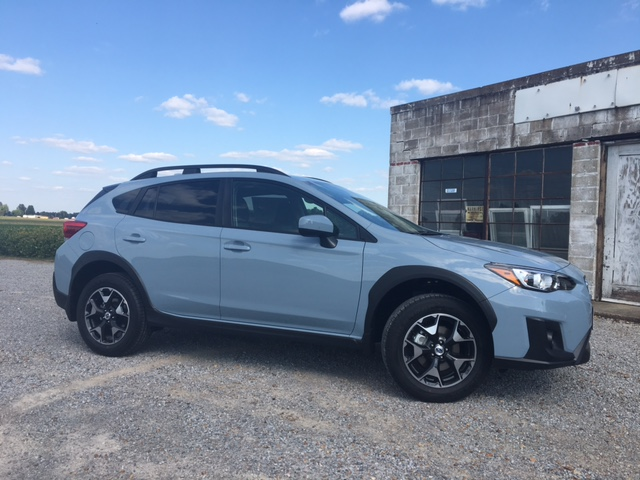 full wide gas station 2018 Crosstrek