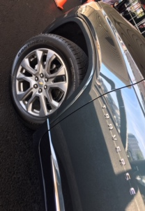 2018 Chevy Traverse front wheel