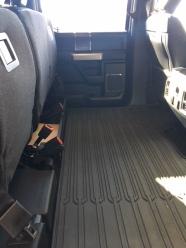 2018 Ford F150 Lariat interior 2