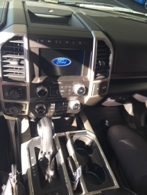 2018 Ford F150 Lariat interior