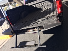 2018 Ford F150 Lariat step up tailgate