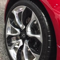 2018 Lexus LC500 wheel