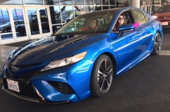 2018 Toyota Camry full with Jules