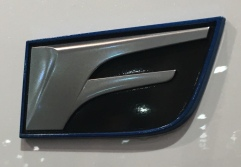 Lexus RC F emblem