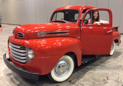 1950 Ford F1 with Jules
