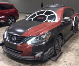 2018 Nissan Altima as Special Forces TIE Fighter