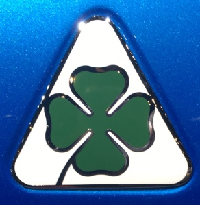 Alfa Romeo clover emblem