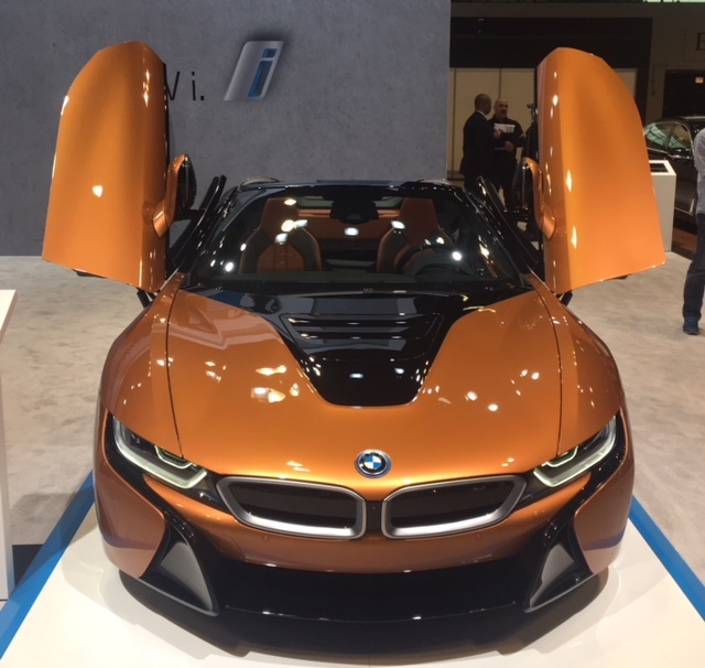 BMW i8 butterfly doors