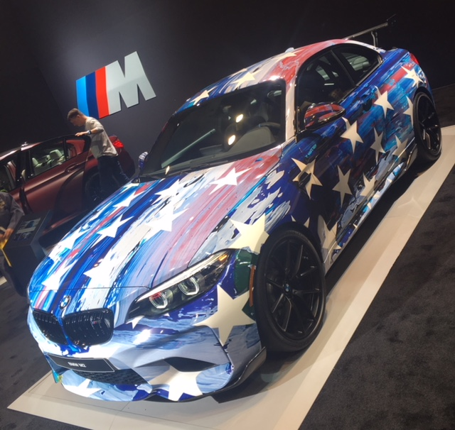 BMW Laurel Motorsport M2 Edition art wrap