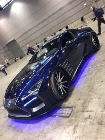 Lexus Black Panther LC500 Concept side view