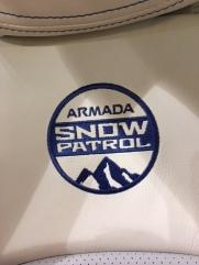 Nissan Armada Snow Patrol Concept stitching