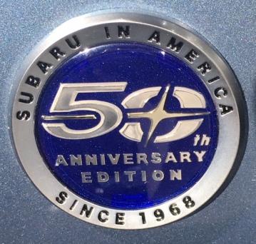 Subaru 50th emblem
