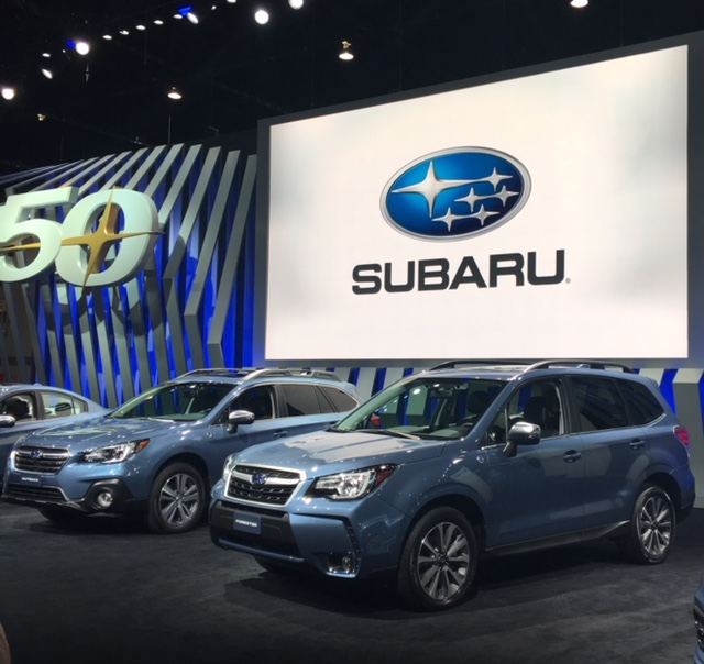 Fifty and Fabulous – Subaru Marks Anniversary with Special Edition Reveal at The Chicago AutoShow
