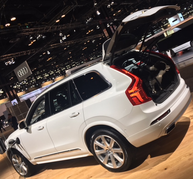 Volvo XC40 plug-in and dog accessories
