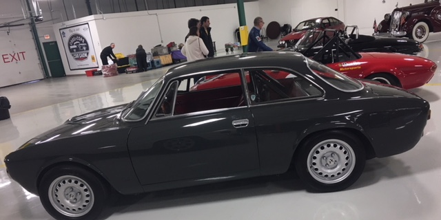 1969 Alfa Romeo DTV side