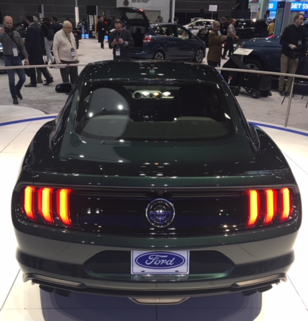 2019 Ford Bullitt rear view