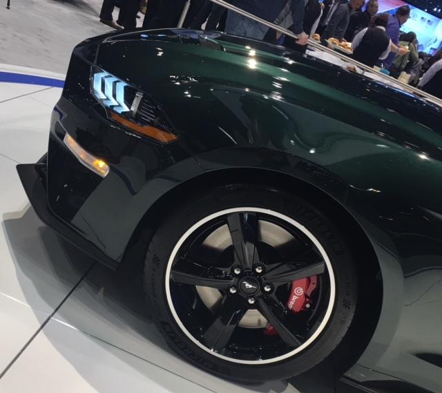 2019 Ford Bullitt rim