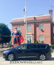 full Superman statue and PH