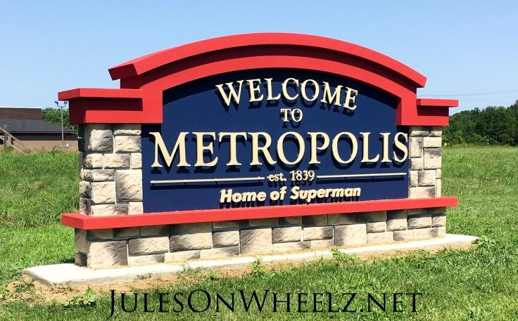 Metropolis sign