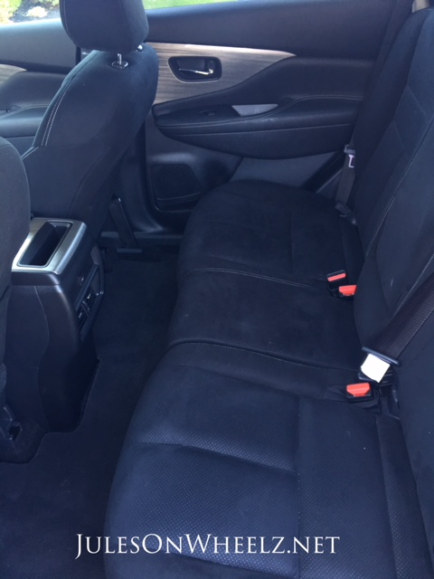 Murano back seat