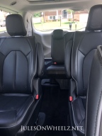 Pacifica Hybrid rear interior