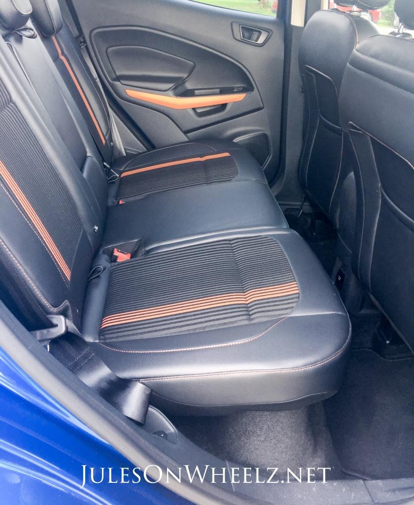 back seat EcoSport