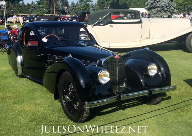 1937 Bugatti T57S Coupe