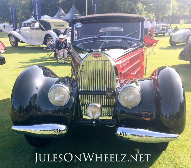 1939 Bugatti T57 Cabriolet by Letourneur