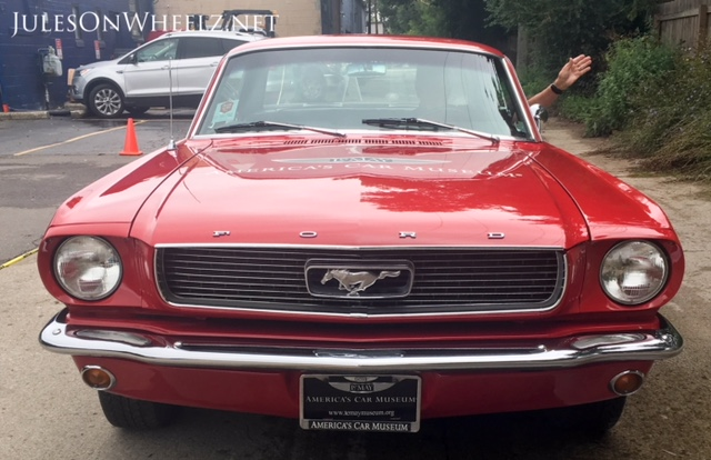 1966 Mustang front