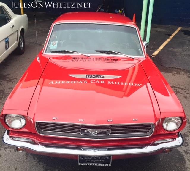 1966 Mustang LeMay emblem