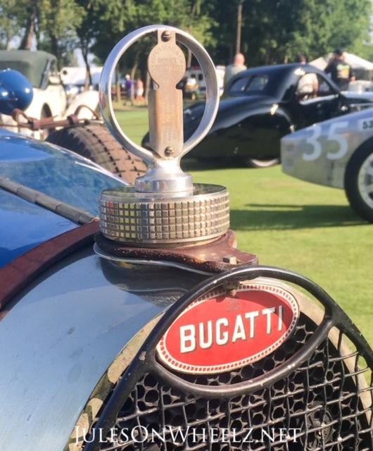 Bugatti emblem hood ornament