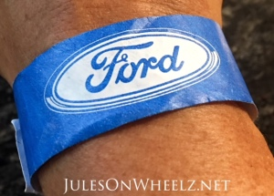 Ford driver wristband