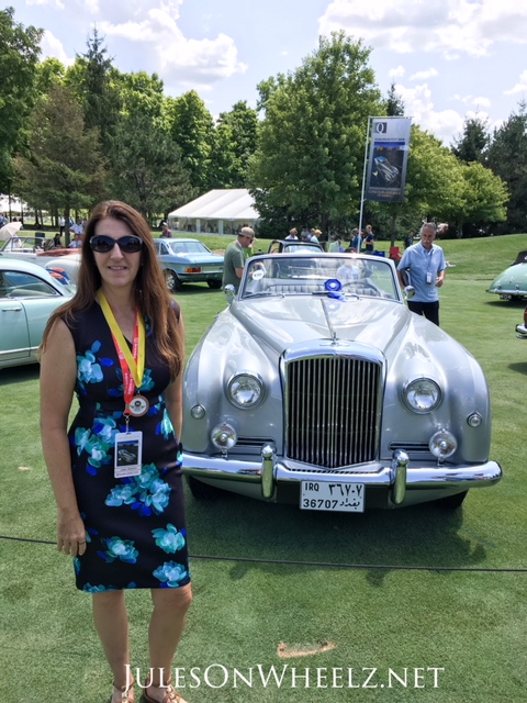 Jules and 1958 Bentley SI Continental Drophead Coupe