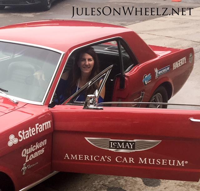 Jules in 1966 Mustang