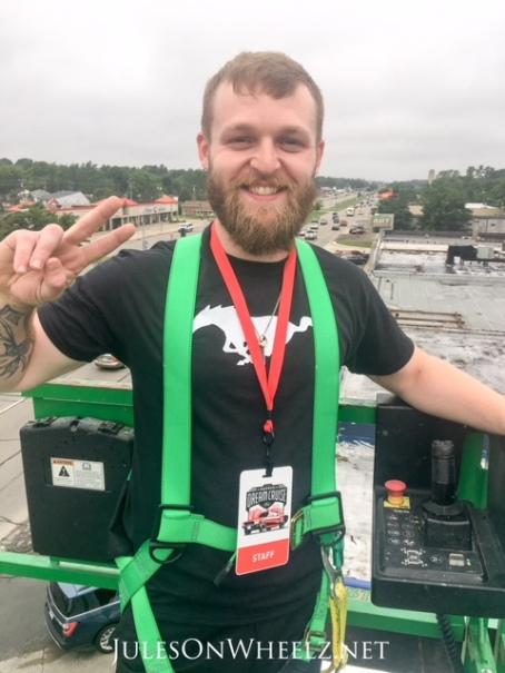 Lift operator Mike