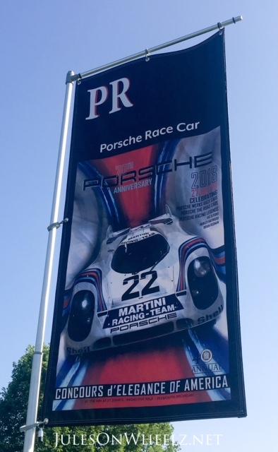 Porsche Race Cars Banner