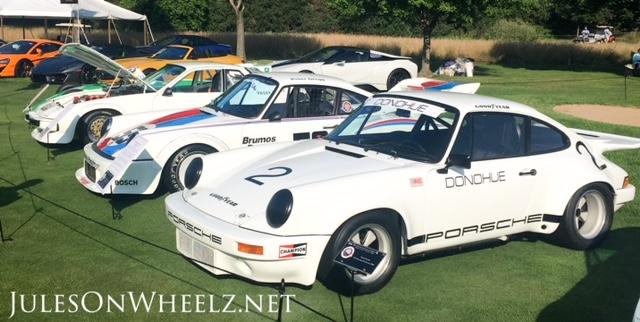 Porsche Race Cars group