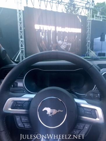wheel and Steve McQueen