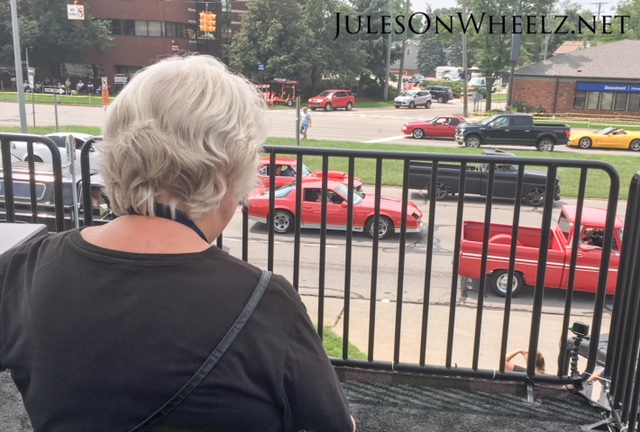 Gail watching WDC