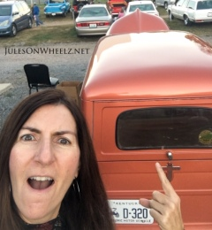 Jules and Crosley wagon