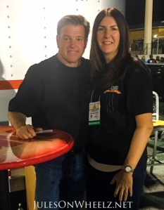 Chip Foose and Jules