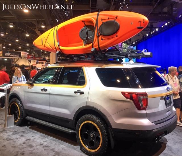 Ford Explorer kayak