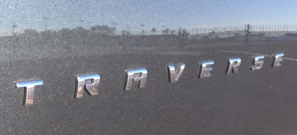 2018 Chevy Traverse emblem