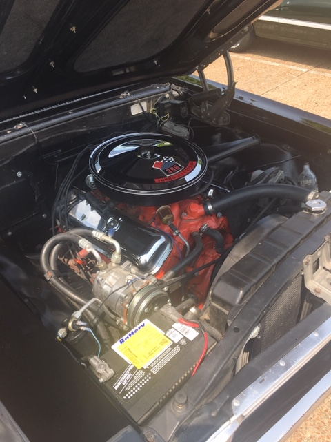 1967 Chevy Chevelle SS engine
