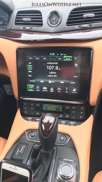 console 2019 Maserati GTC Sport